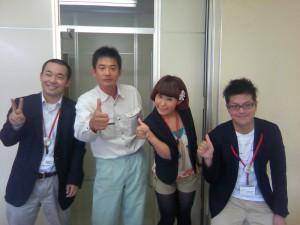 こいこい小千谷プログラムスタッフの皆さんと渡部理事長