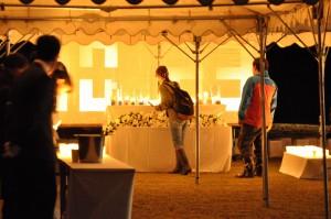 10.23犠牲者への追悼の灯