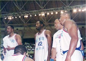 NBA OBチーム招待試合開催